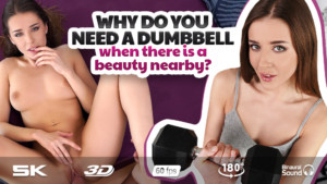 The Workout With Sybil RealJamVR Sybil vr porn video vrporn.com virtual reality