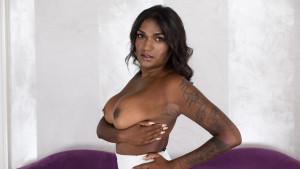 Ebony Beauty CzechVR Casting Saritha Olivieri vr porn video vrporn.com virtual reality